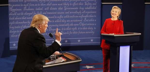 Las 5 promesas de Trump y Clinton durante el debate ...