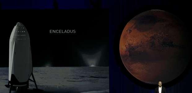 Dueño de SpaceX concibe flota espacial para colonizar Marte
