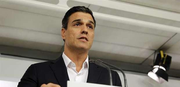 Sánchez propone que se readmita a los 17 dimitidos del PSOE
