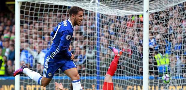 Chelsea domina Leicester e vence por 3 a 0