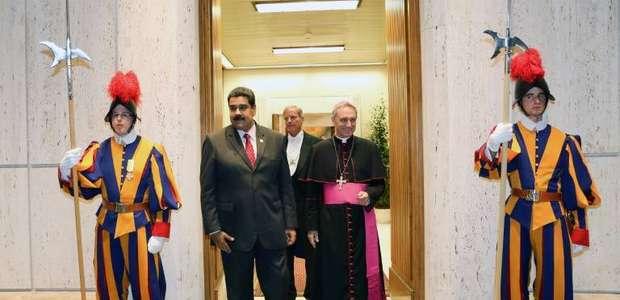 Enviado do Papa anuncia diálogo governo-oposição da ...