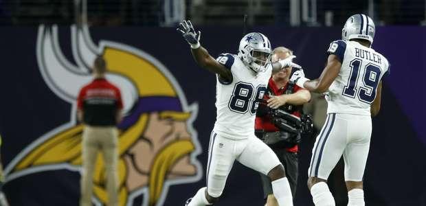 Con defensiva y un fumble, Cowboys superan a los Vikings
