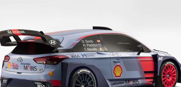 Hyundai competirá en la FIA 2017 con el i20 Coupé WRC
