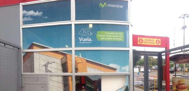 Surco: Roban caja fuerte de supermercado Plaza Vea