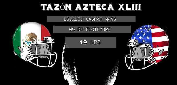 Programación y pronóstico del Tazón Azteca XLIII