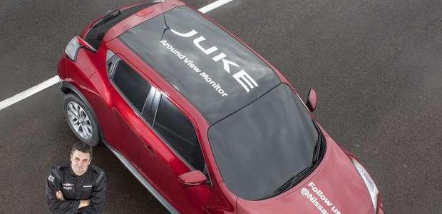 Nissan JUKE establece récord mundial de giro en J a ciegas