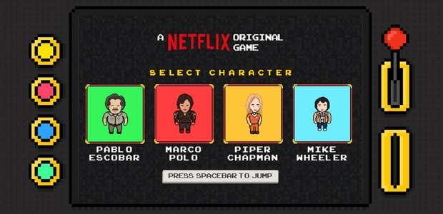 Netflix lanza un juego con los protagonistas de sus series