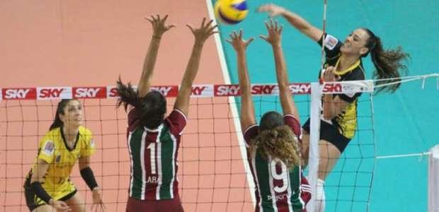 Fluminense bate Rio do Sul pela segunda rodada da Superliga