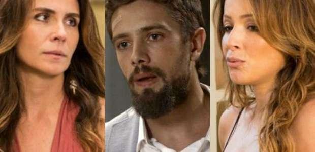 'Sol Nascente': Sirlene revela que Cesar é pai de Lucas
