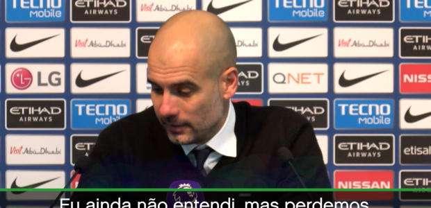 """""""Na minha carreira o árbitro não importa"""", diz Guardiola"""