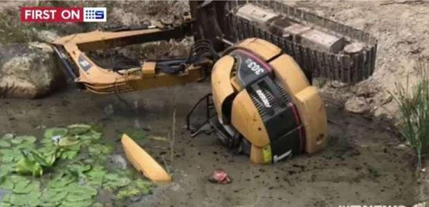 Australiano sobrevive por horas preso em açude com água ...