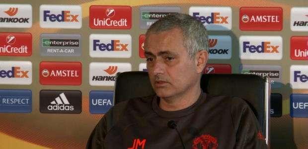 """Liga Europa: Mourinho: """"Sempre jogamos para vencer"""""""