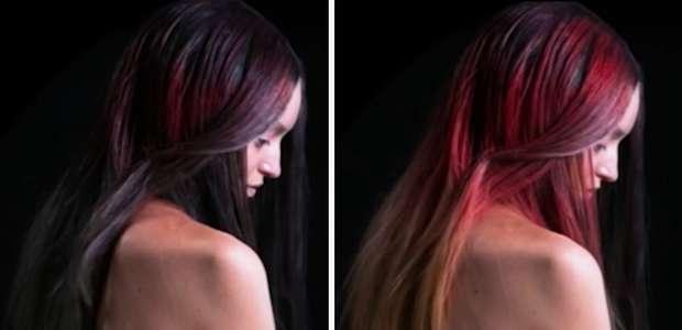 ¡Ya está aquí! El tinte de pelo que cambia mágicamente ...