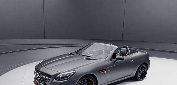 Ediciones especiales de los SL y SLC de Mercedes-Benz