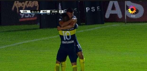 Boca mostró signos de mejoría y le ganó con justicia a Colón