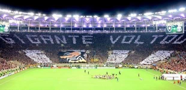 Festa! Veja alguns mosaicos feitos nos estádios brasileiros