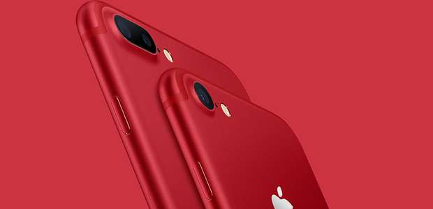 Apple presenta un iPhone en color rojo: RED Special Edition