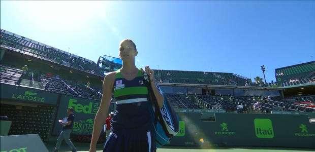 WTA Miami: Pliskova vence Strycova (6-1, 6-4)