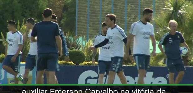 Messi é suspenso após xingar assistente brasileiro