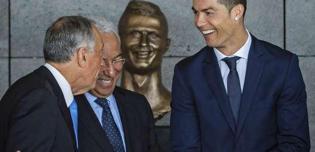 El inquietante busto de Cristiano Ronaldo provoca burlas ...