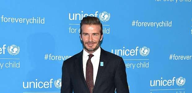 David Beckham y otras estrellas con el 'rostro ...