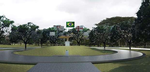 Cidade de SP inaugura praça em homenagem a Ayrton Senna
