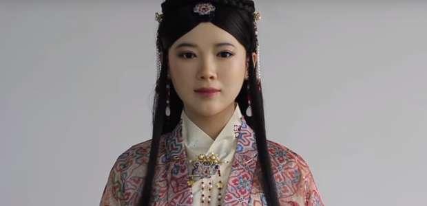 La extraña y fallida primera entrevista al robot chino ...
