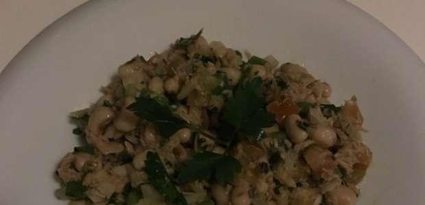 Salada de feijão-frade