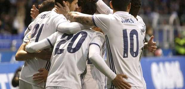 Real Madrid olvida el clásico con su 'segunda unidad'