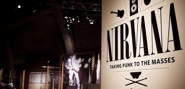 Exposição do Nirvana chega ao RJ em 20 de junho