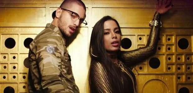 Maluma chega ao Brasil para show com Anitta