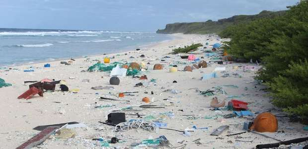 Remota e desabitada, ilha no Pacífico tem a maior ...