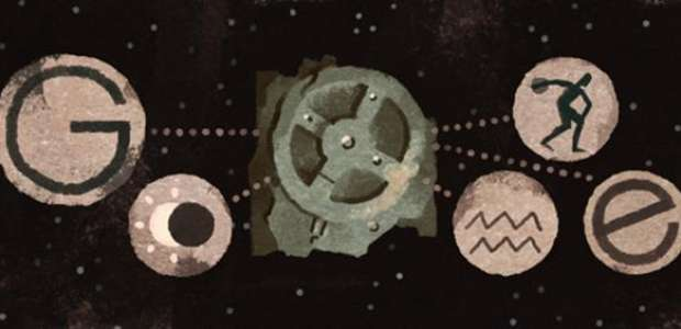 ¿Qué es el mecanismo de Antikythera? el doodle de hoy