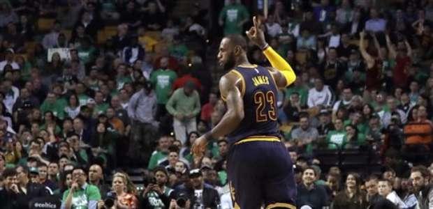 El 'Rey' LeBron vuelve a las Finales de la NBA con los Cavs