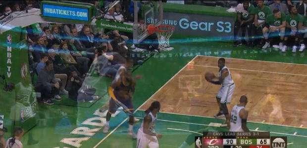 Show de LeBron na vitória dos Cavs contra os Celtics