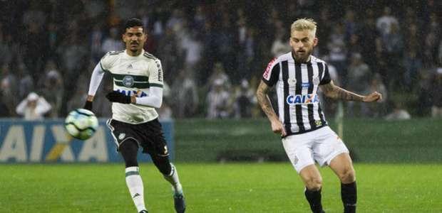 Santos estreia Nilmar, mas não sai do 0 a 0 com o Coritiba