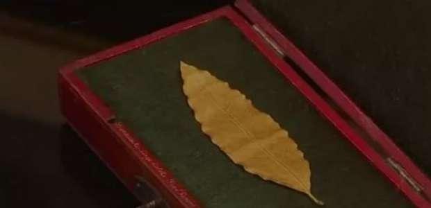 Folha de ouro de coroa de Napoleão é vendida por US$ 730 mil