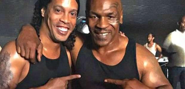 Filme com Ronaldinho e Tyson chega ao streaming no Brasil