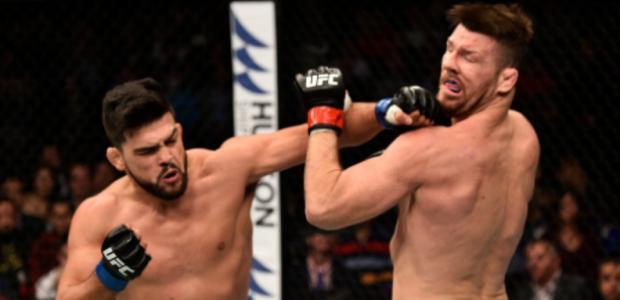 Fotos! Nocautaço de Gastelum em Bisping marca UFC China