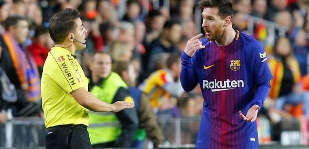 """Gol fantasma"" de Messi domina manchetes espanholas após ..."