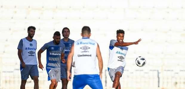 Grêmio encerra preparação para enfrentar o Pachuca-MEX