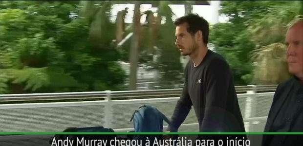 Murray desembarca na Austrália para a nova temporada