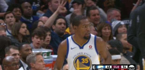 Destaque do Dia - Durant dominou Cavs e Warriors venceu