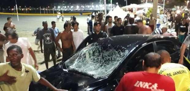 Família de bebê atropelada em Copacabana quer indenização