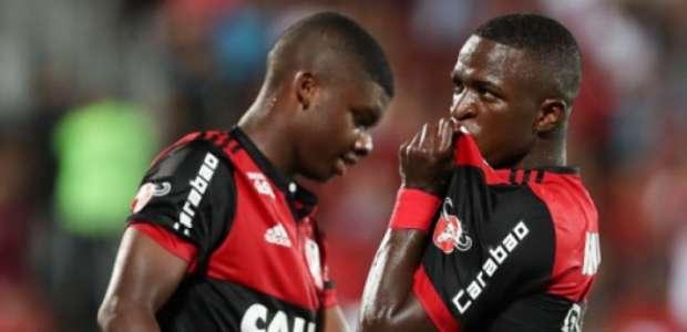 Com gol de Vinicius Júnior, Flamengo vence a Cabofriense