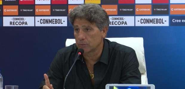 """GRÊMIO: Renato Gaúcho: """"Vídeo favorece quem quer jogar ..."""