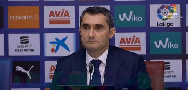 """Valverde: """"Coutinho começou no banco para o bem do time"""""""