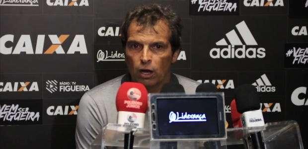 """FIGUEIRENSE: Milton Cruz: """"No Brasil, não há tempo para ..."""