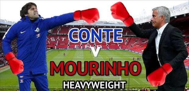 Premier League: Conte v Mourinho - guerra de palavras
