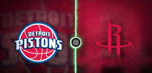 Harden leva o Rockets à vitória contra o Pistons por 100 ...